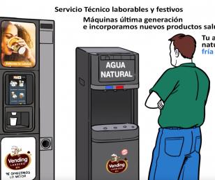 Nuevo vídeo Vending Lardero - Maquinas de café para empresas y oficinas