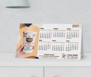 Calendario Vending Lardero para el 2021
