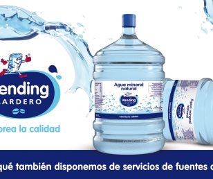 ¿Sabías qué... también ofrecemos servicios de fuentes de agua?