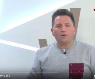 Presentación de Vending Lardero en TVR